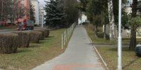 Chodník Masarykova Havlíčkův Brod