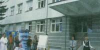 Původní objekt interního pavilonu nemocnice v Havlíčkově Brodě už opravy potřeboval, pocházel z druhé světové války